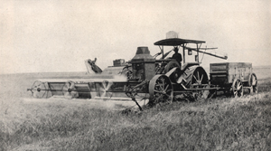 antique farm equipment tractor
